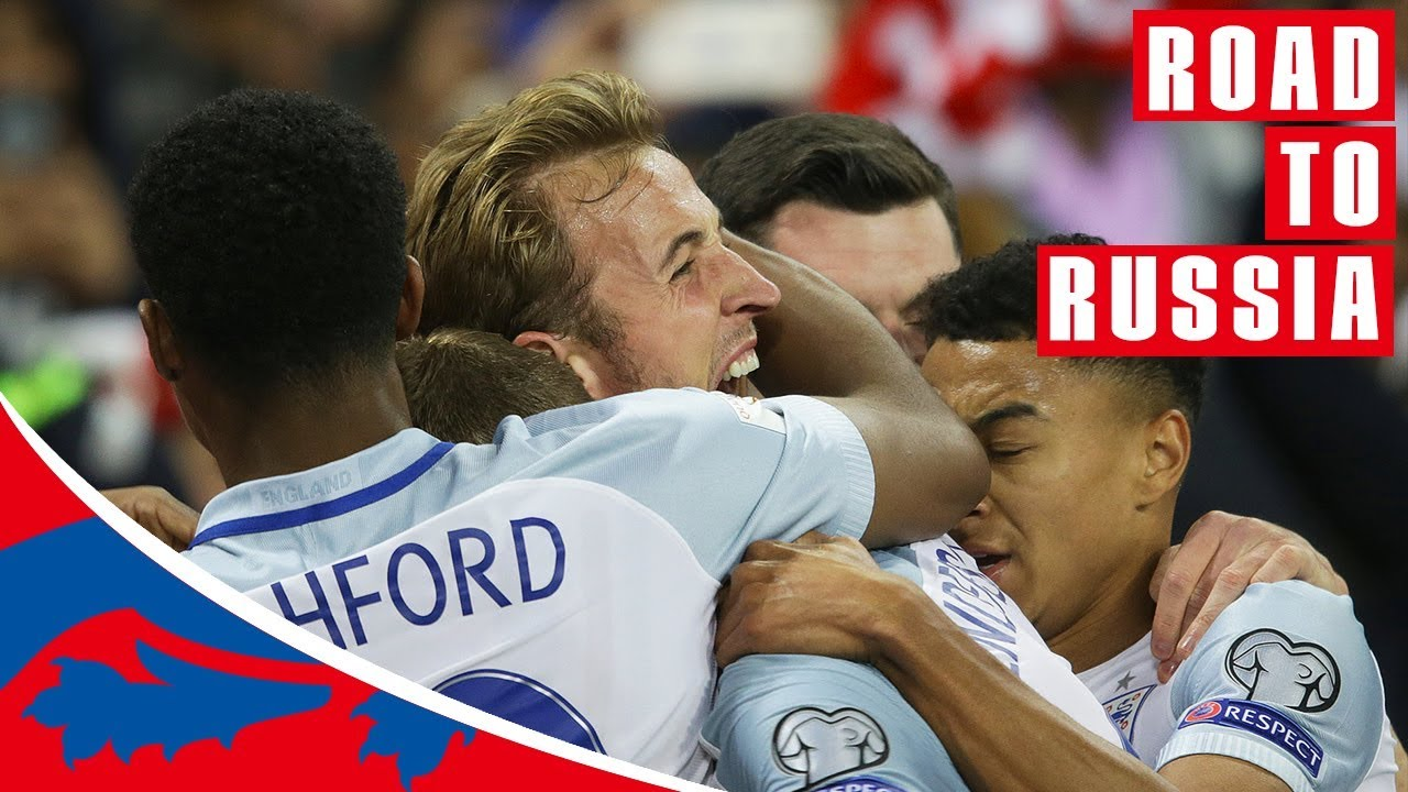 Every England Goal!   Road to Russia 2018