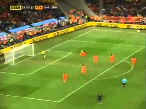 FIFA WORLD CUP 2010 FINAL: ANDRES INIESTA GOAL VS HOLLAND
