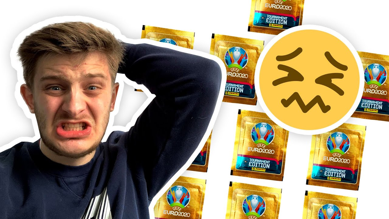 I *ALMOST* MESSED-UP when building my PANINI EURO 2020 STICKER DRAFT!! (pack opening!)