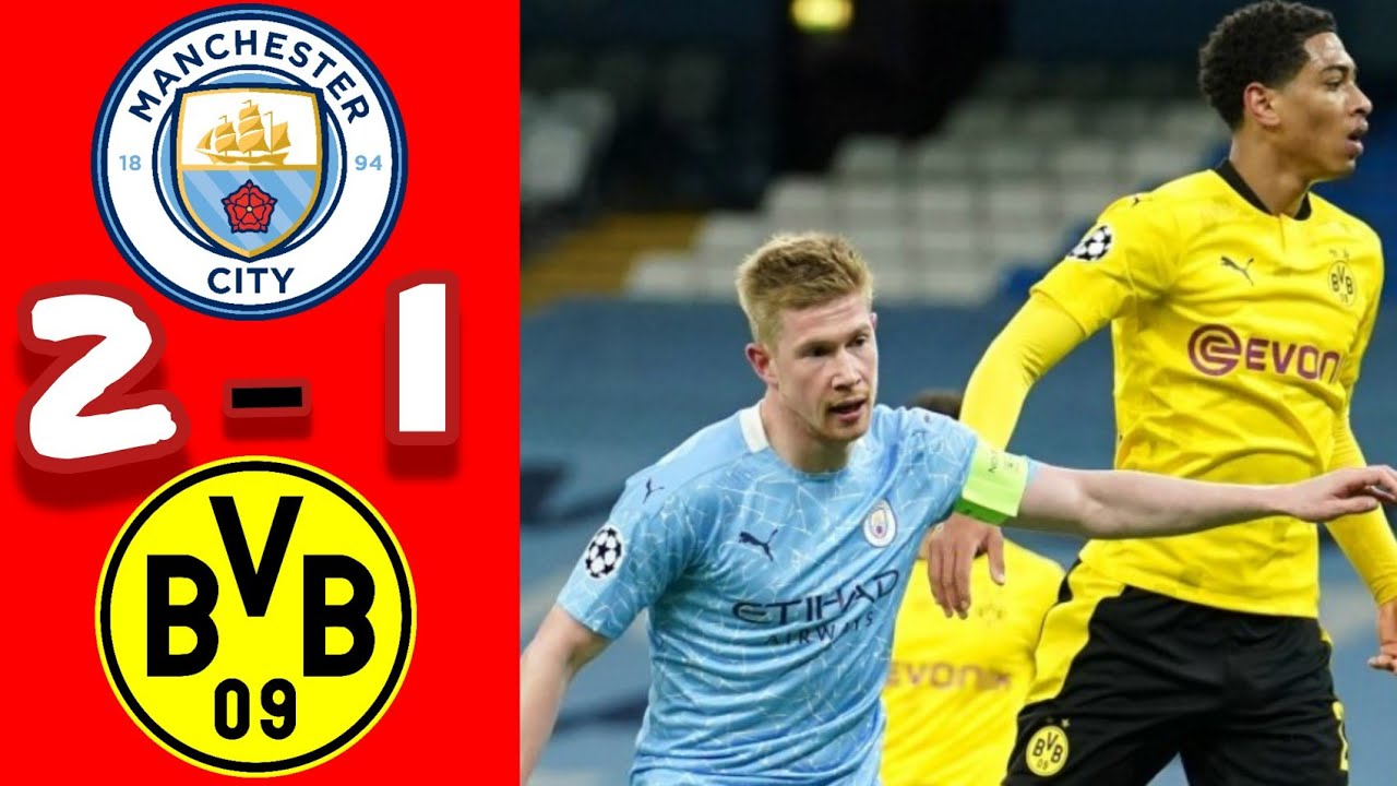 Manchester City vs Dortmund - Highlights & All Goals UEFA Champions League 2020/2021