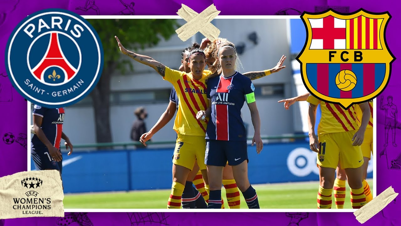 PSG vs FC Barcelona | UEFA WOMEN CHAMPIONS LEAGUE HIGHLIGHTS | 4/25/2021 | beIN SPORTS USA