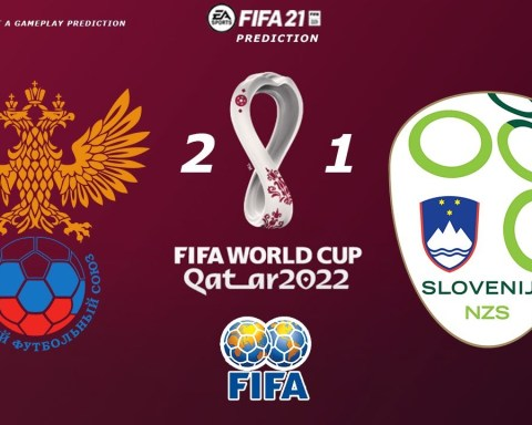 Russia vs Slovenia - World Cup 2022 Qualifiers | 27/03/2021 | Fifa 21