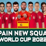 Spain Squad 2022 Qatar World Cup | FIFA World Cup 2022 | Spain Players List
