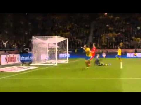 Zlatan Ibrahimovic Goal Sweden 2-1 Austria HQ World Cup Qualification 2014