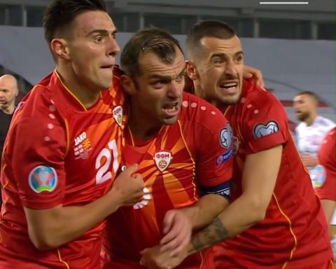 Goran Pandev's first EURO performance... ...