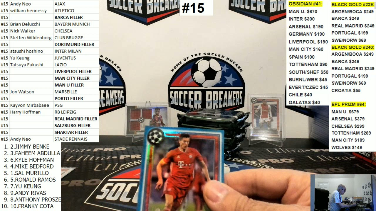 2020-21 Topps Museum Collection UEFA Champions League 6 Hobby Box PYT Break #15 (SOCCER BREAKERS FC)