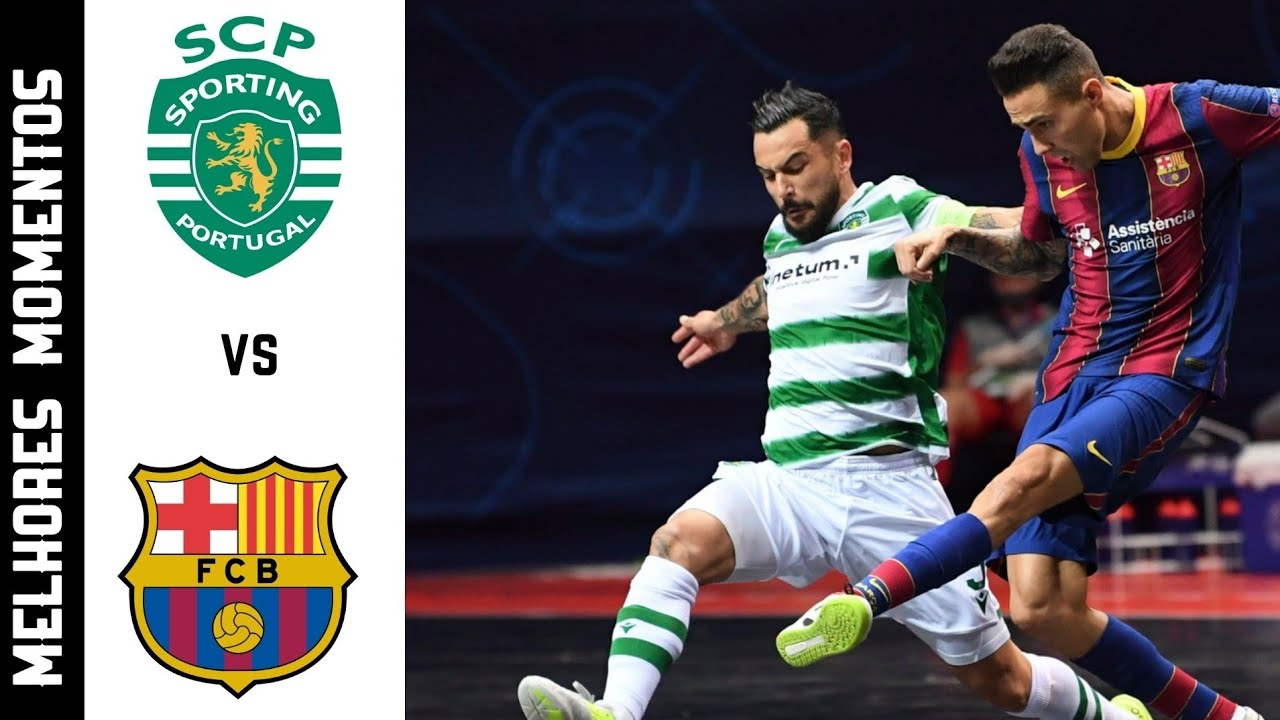 BARCELON 3x4 SPORTING - FINAL UEFA FUTSAL CHAMPIONS LEAGUE  - 3/05/2021