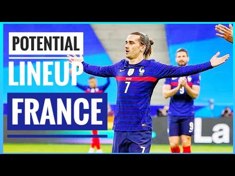 FRANCE POTENTIAL LINEUP FOR UEFA EURO 2021 | PREDICTING FRANCE 'S EURO 2020 LINEUP