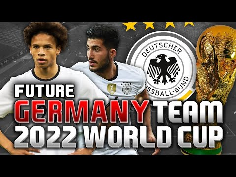 Germany New  Squad World Cup 2022 || New And Young Squad || Best Sqaud ||