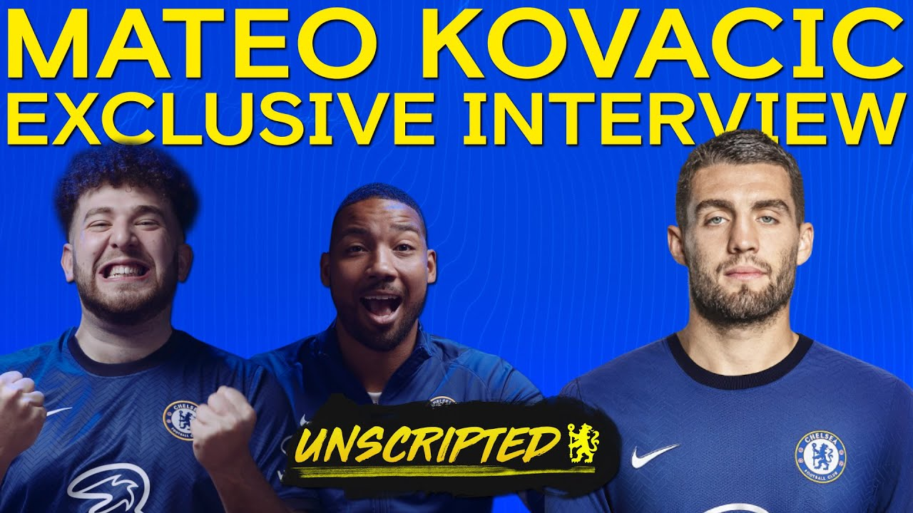 Mateo Kovacic on making the UEFA Champions League final | Unscripted Episode 20