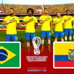PES 2021 | BRAZIL vs ECUADOR FIFA World Cup 2022 (Difficulty Level Superstar)