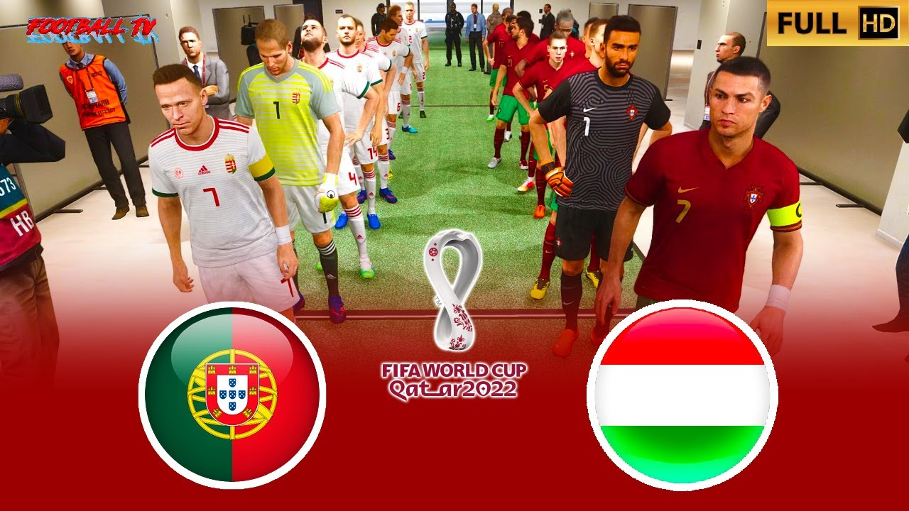 PES 2021 - PORTUGAL vs HUNGARY - FIFA World Cup 2022 - Gameplay PC