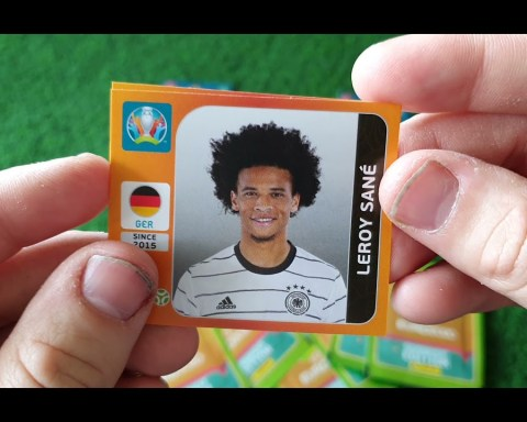 Panini Uefa Euro 2020 Kick off 2921 Tournament Edition!Pojedynek Rarek!Lewandowski kontra Ronaldo!