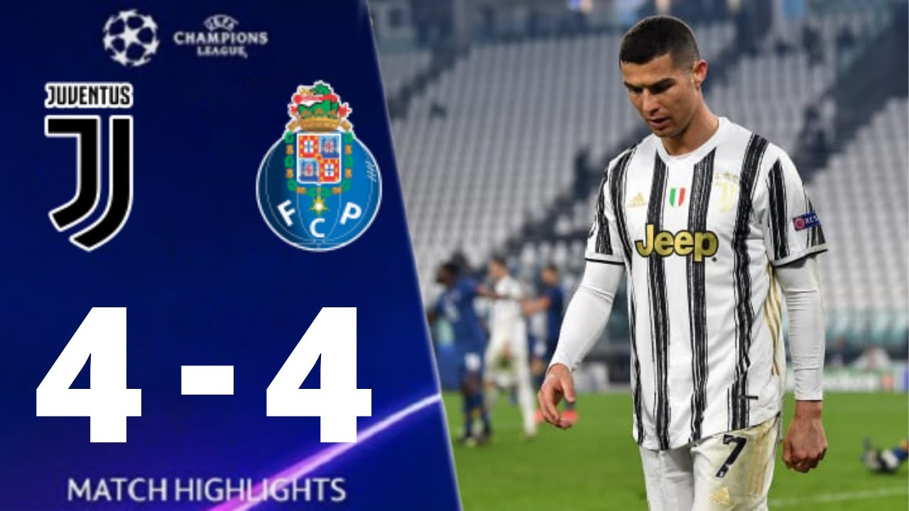 Juventus vs Porto 4-4 UEFA Champions League 2021 All Goals And Extended Highlights