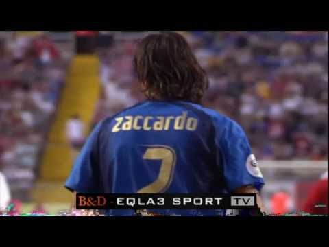 World Cup 2006 - ITALY 1-1 UNITED STATES ( Zaccardo Goal )