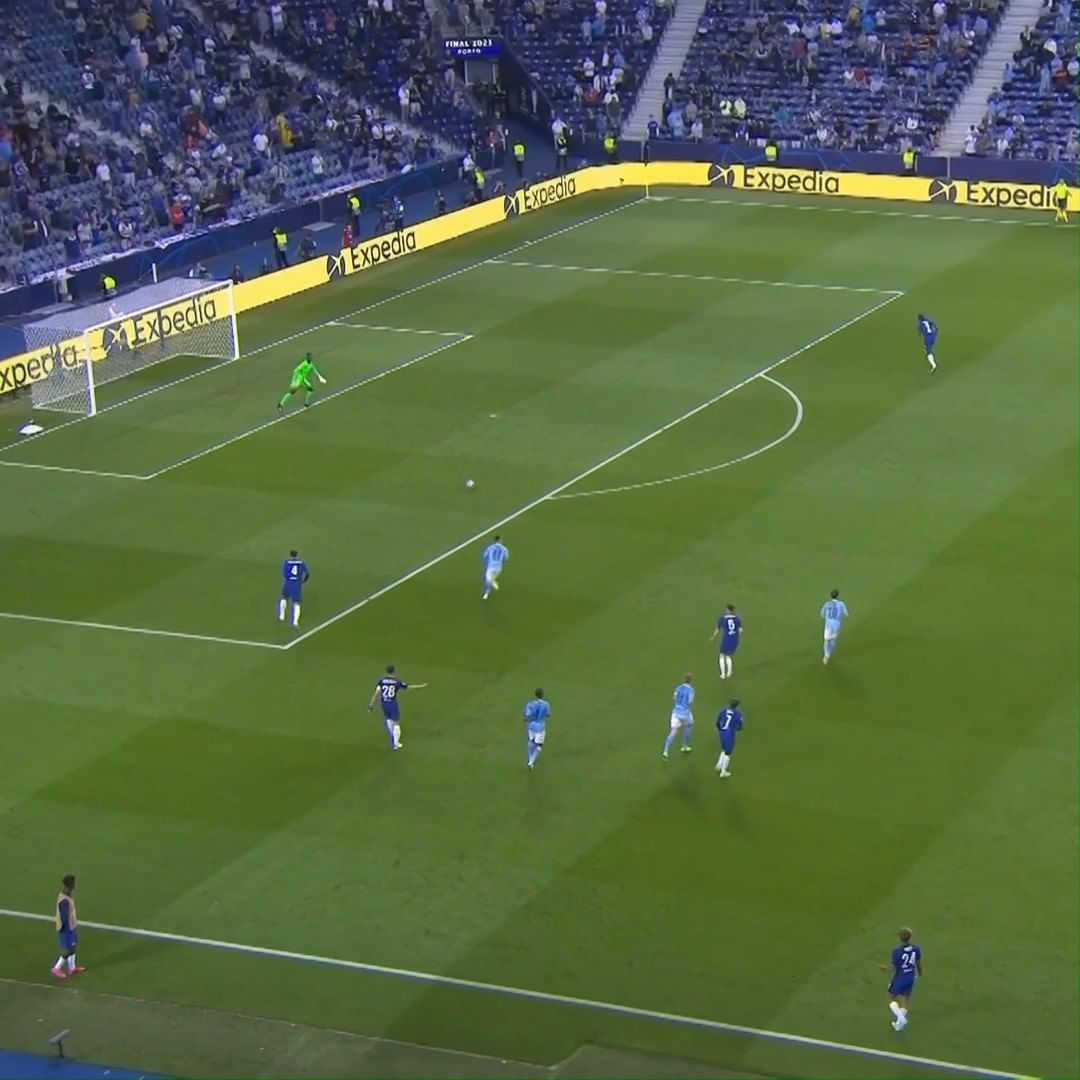 Recreate the all-important  goal   The pass from Mount  The run from Havertz &  ...