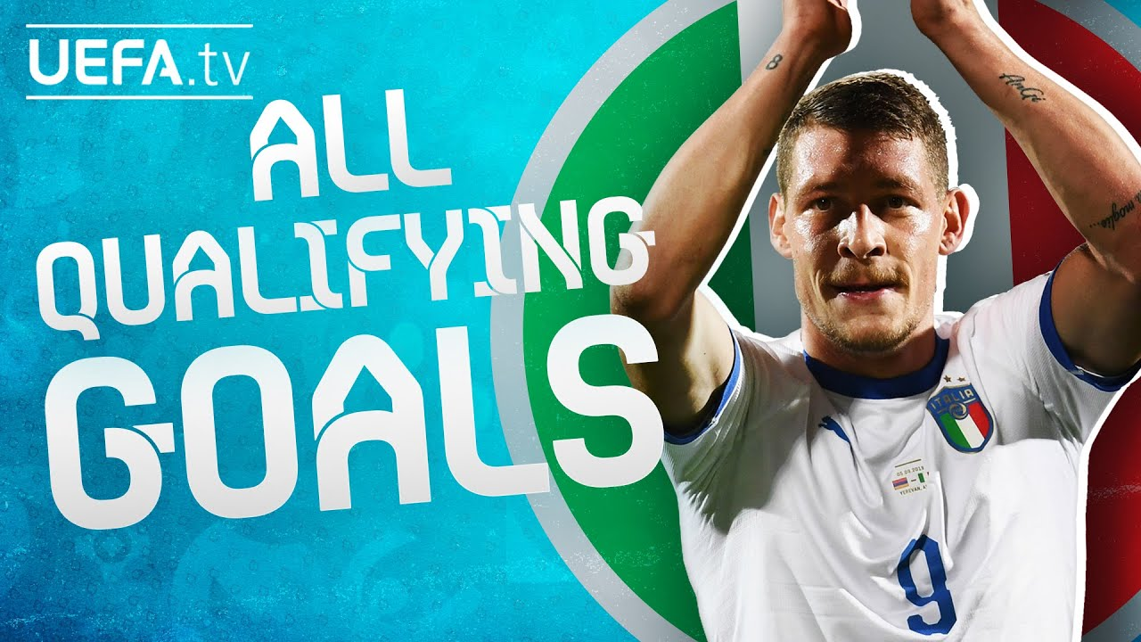 All ITALY GOALS on their way to EURO 2020!
