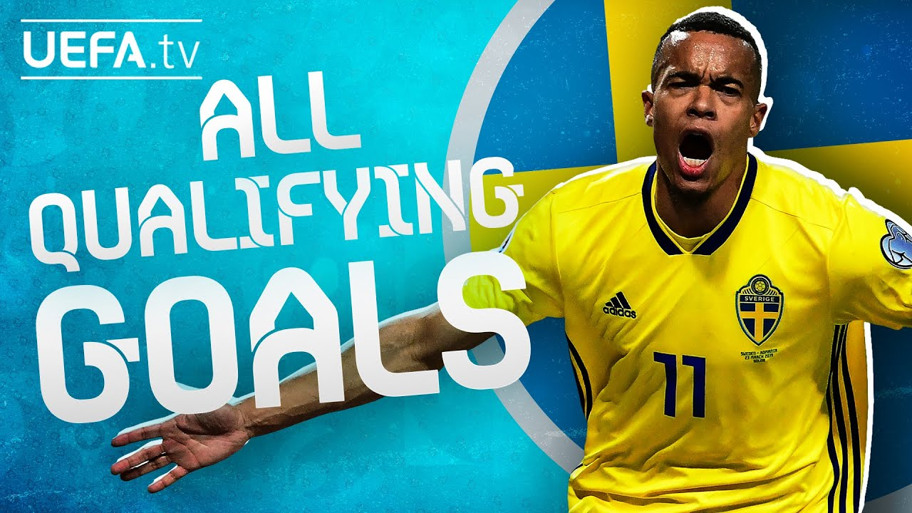All SWEDEN GOALS on their way to EURO 2020!