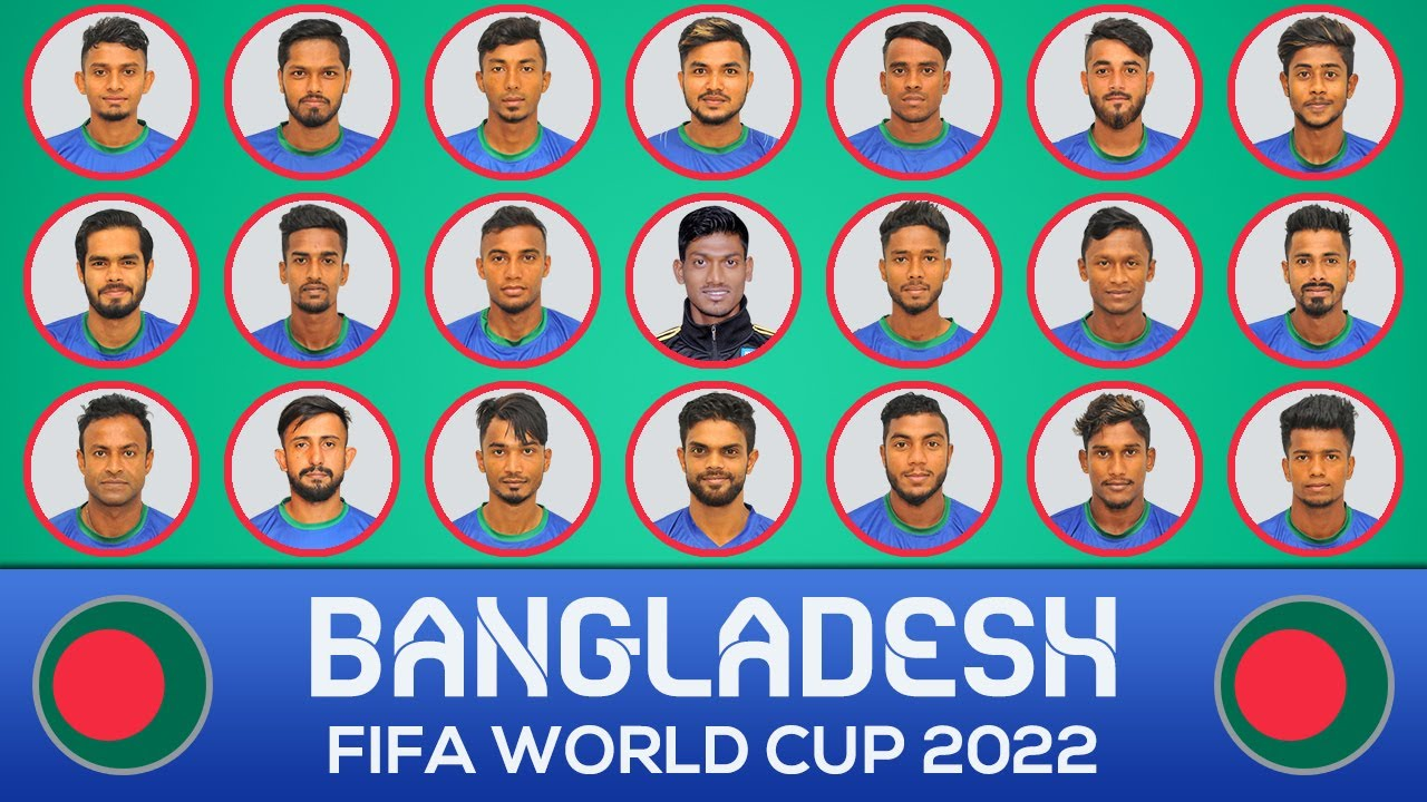 BANGLADESH SQUAD FIFA WORLD CUP 2022 QUALIFIERS ASIA
