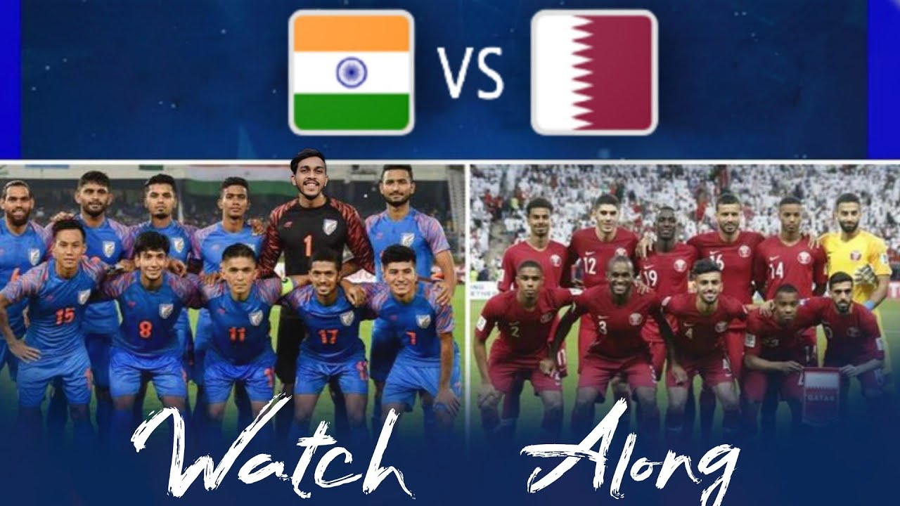 INDIA VS QATAR FIFA WORLD CUP 2022 QUALIFIERS With LIARS FC  LIVE