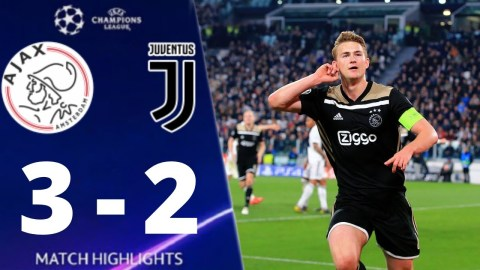 Juventus vs Ajax 2-3 UEFA Champions league 2019 All Goals And Extended Highlights