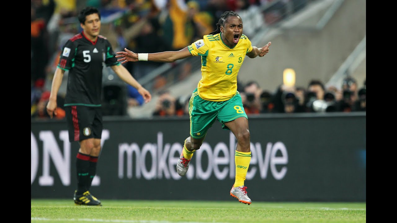 Siphiwe Tshabalala on THAT goal | South Africa v Mexico | 2010 FIFA World Cup