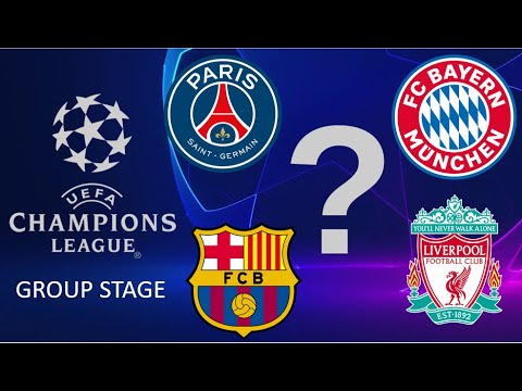 UEFA Champions League Group Stage Predictions 2020-21
