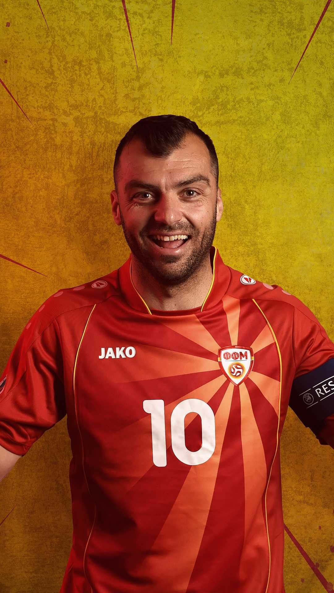 Goran Pandev added his name to an illustrious list...  ...