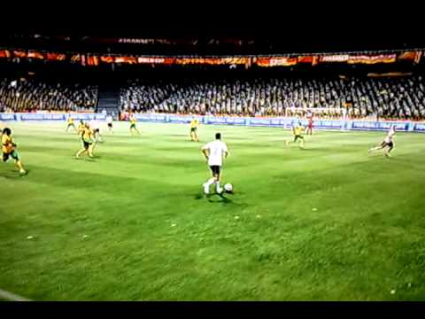 2010 FIFA World Cup - Amazing Goal With Arne Friedrich Scored Against Me By Aamon Hani
