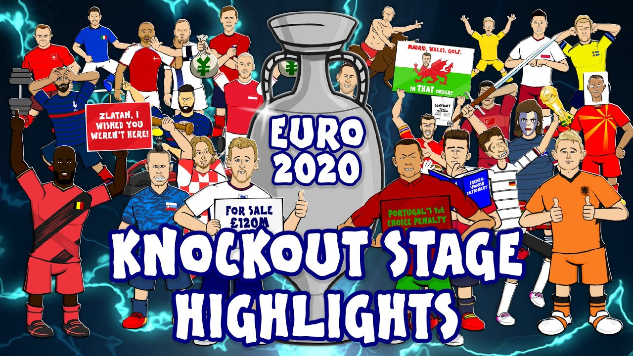 ?Euro 2020 Knockout Stage Highlights? (Italy, England, France, Spain & more!)