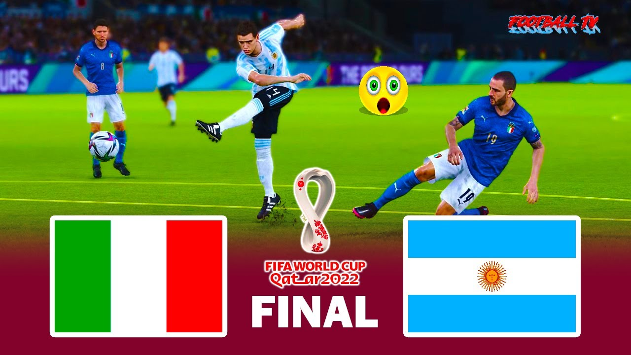 ITALY vs ARGENTINA - Final FIFA World Cup 2022 - Full Match - eFootball PES 2021