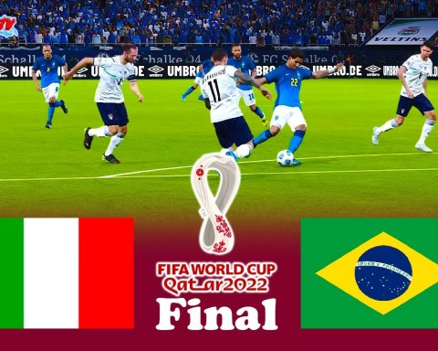 Italy vs Brazil | FIFA World Cup 2022 Final |  PES 2021 eFootball  | Match Gameplay