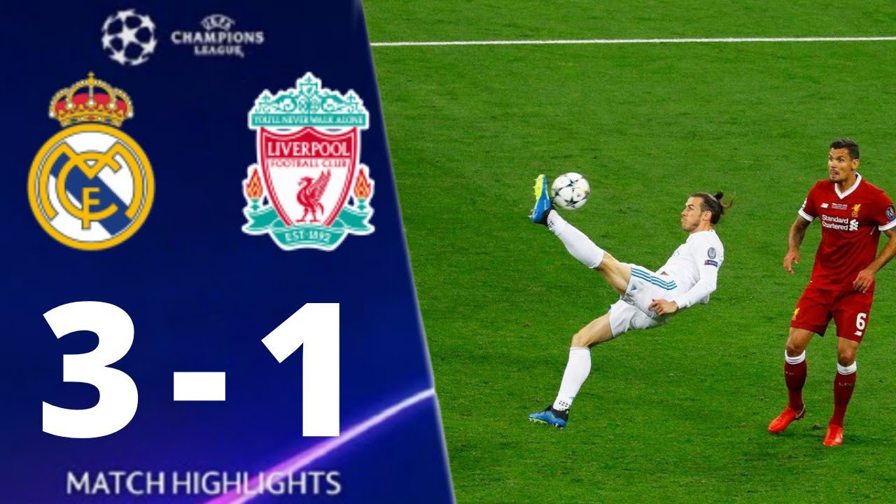 Real Madid vs Liverpool 3-1 UEFA Champions League 2018 Final All Goals And Extended Highlights