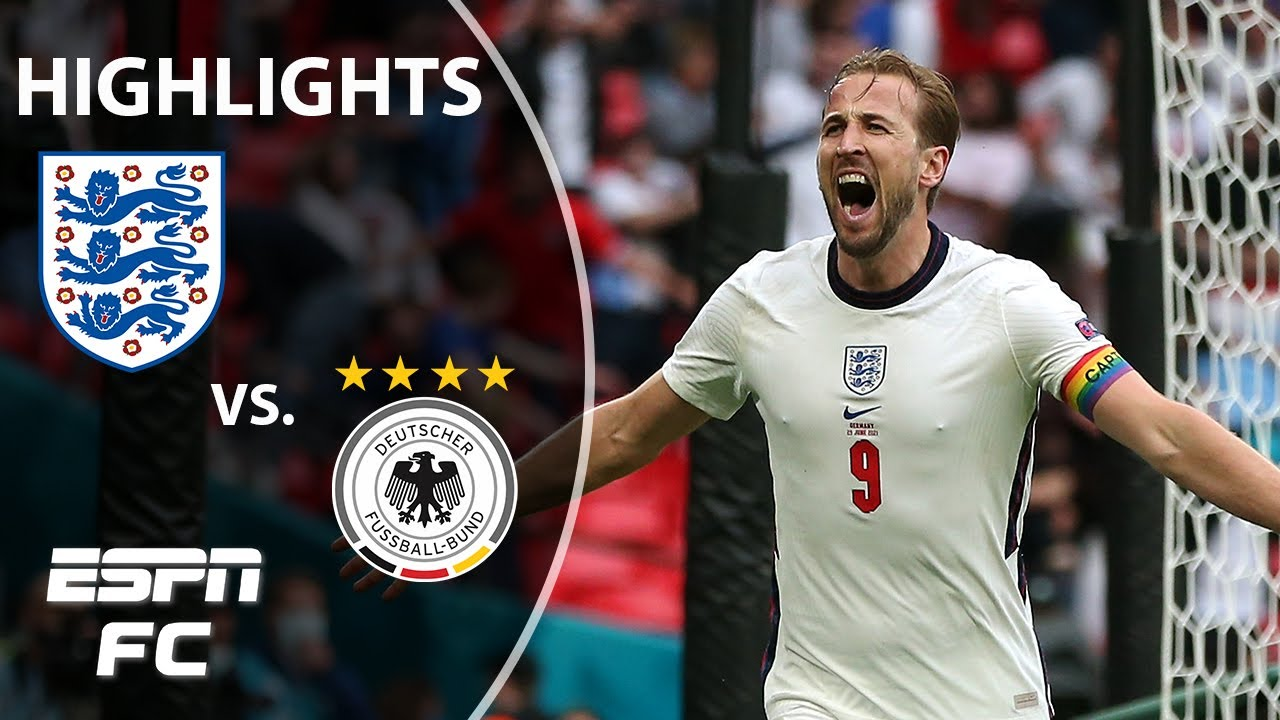 Sterling & Kane down Germany to send England to the Euro 2020 quarterfinals | Highlights | ESPN FC