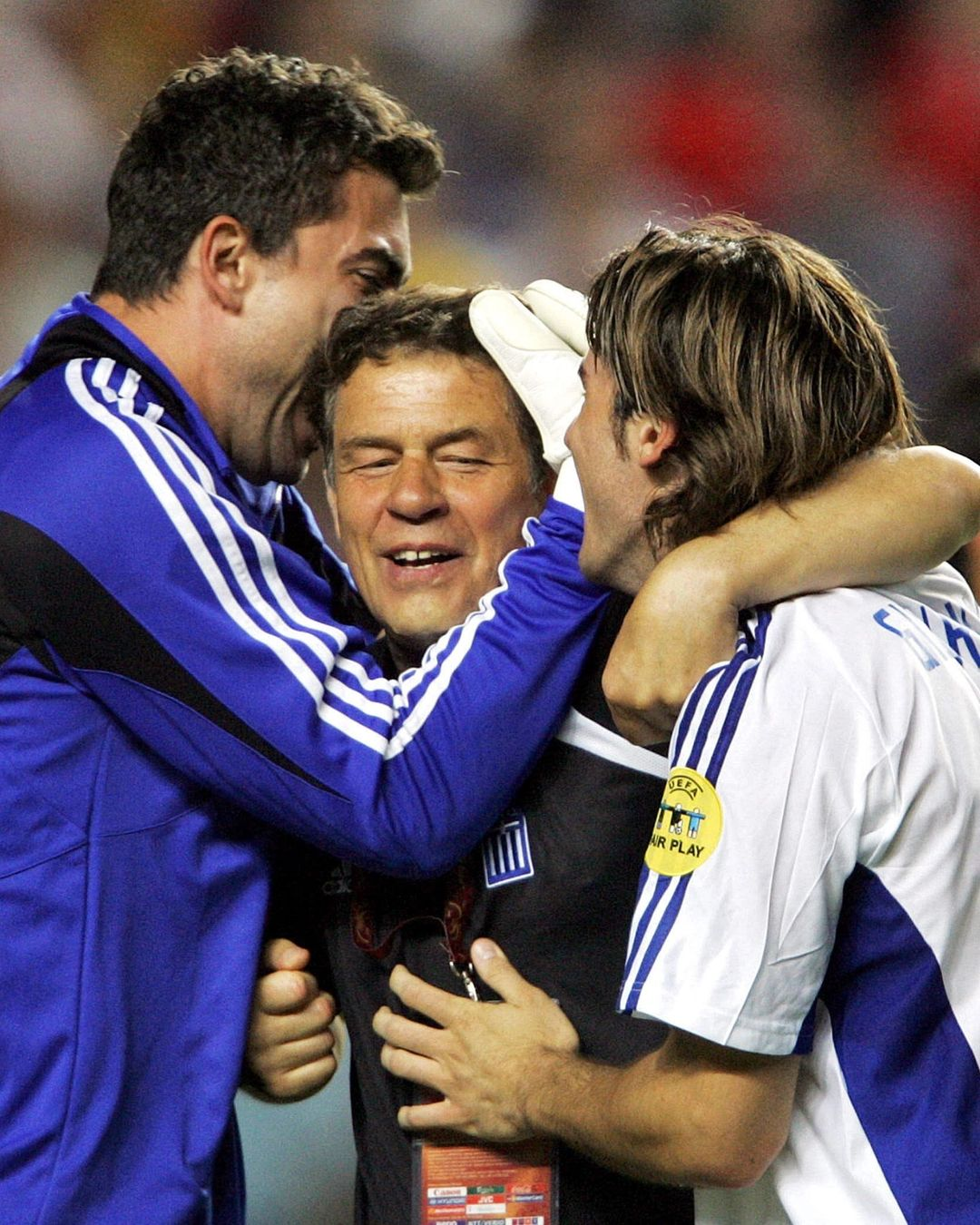 An Unforgettable moment for Greece back in ______   ...