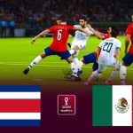 Costa Rica vs Mexico - FIFA World Cup 2022 Qualification - Match eFootball PES 2021 Gameplay