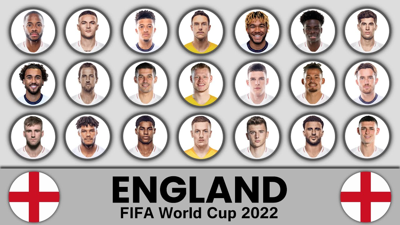 England Football Squad in FIFA World Cup 2022 ? England Football Team ? England Football Team 2022