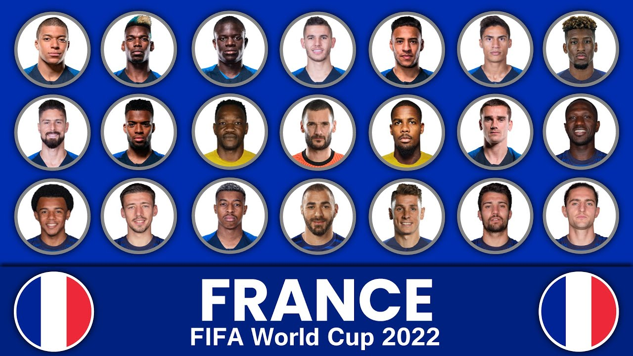 France Football Squad in FIFA World Cup 2022 ? France Football Team ? France Football Squad 2022