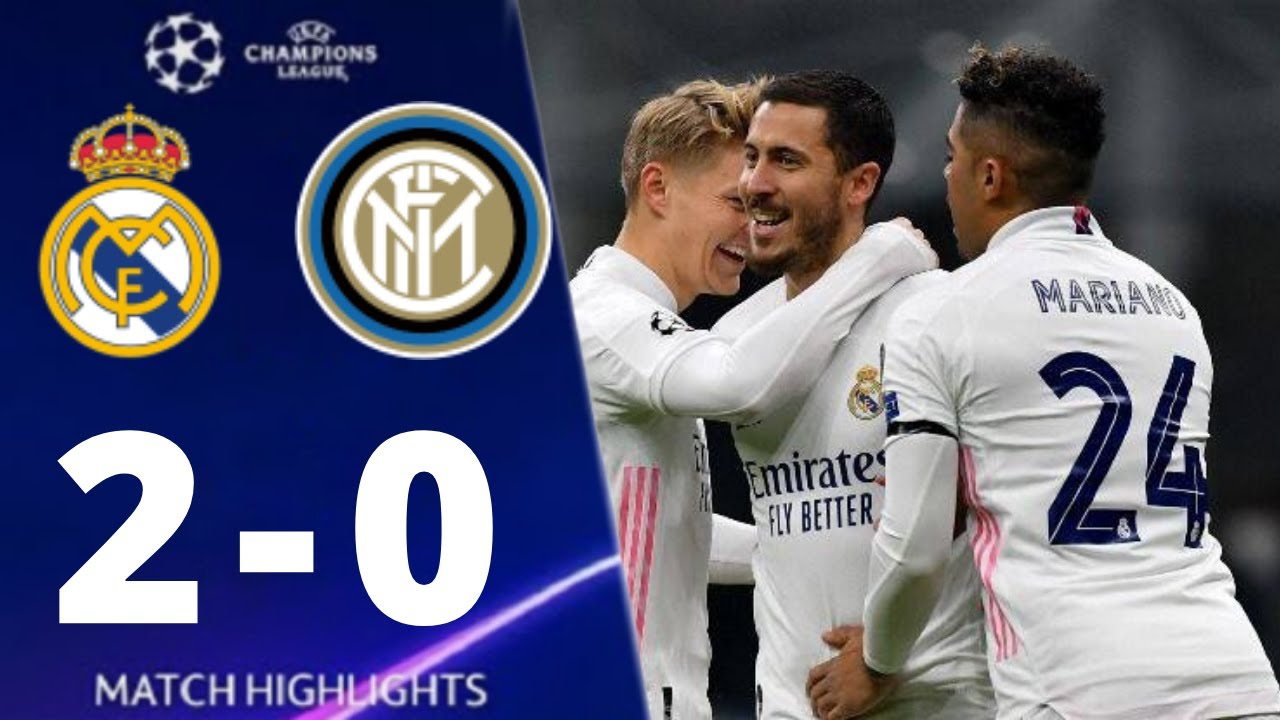 Real Madrid vs Inter Milan 2-0 UEFA Champions League 2020 All Goals And Extended Highlights