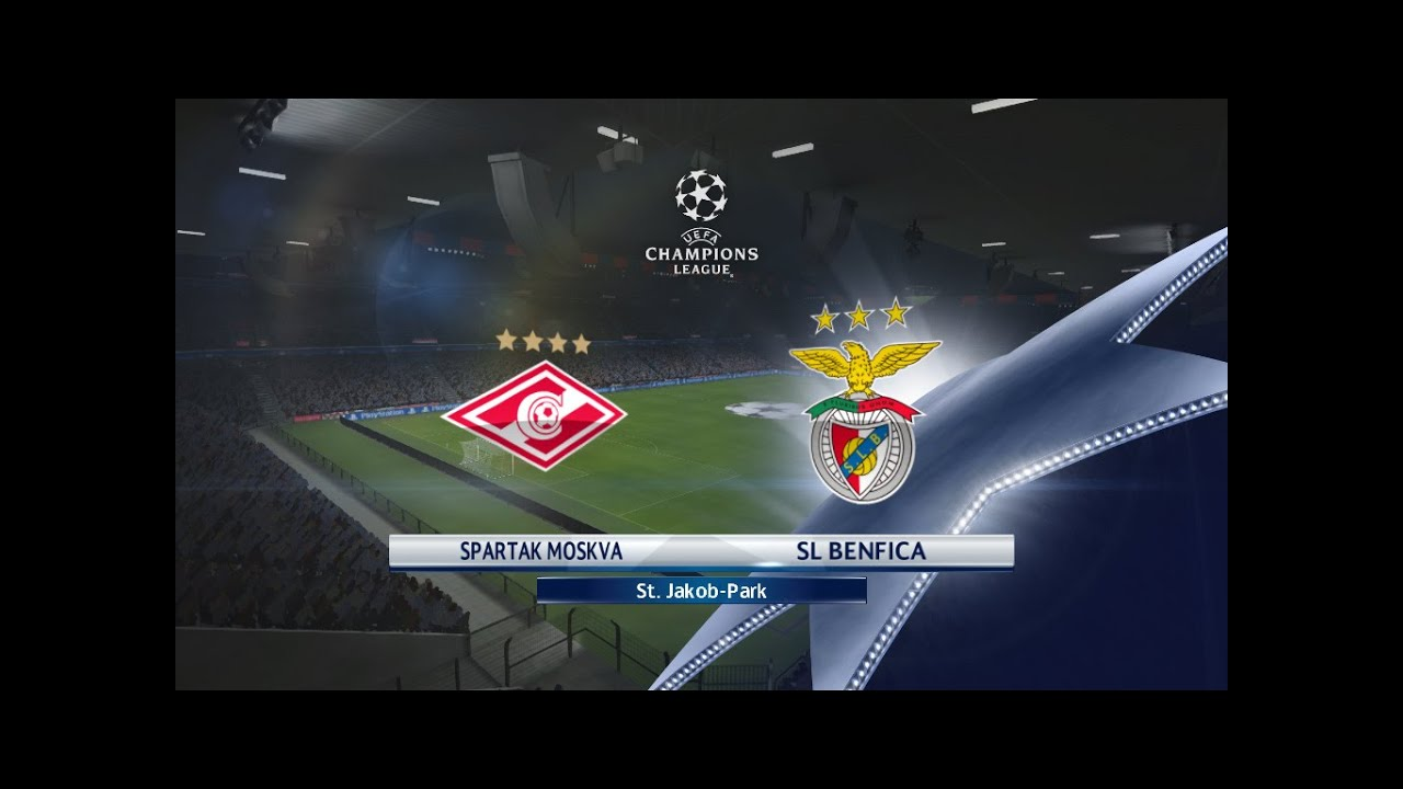SPARTAK MOSCOW VS SL BENFICA // UEFA CHAMPIONS LEAGUE