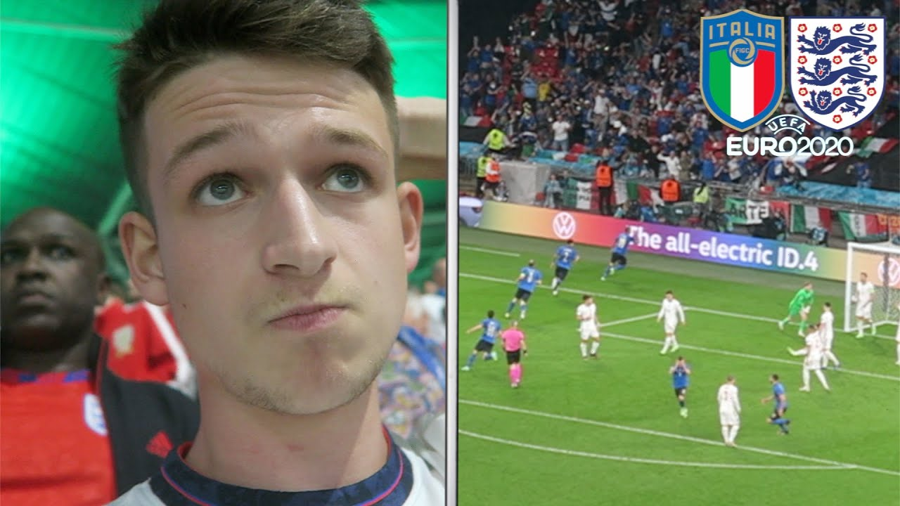 The Moment England Lose to Italy on Penalties   EURO 2020 Final