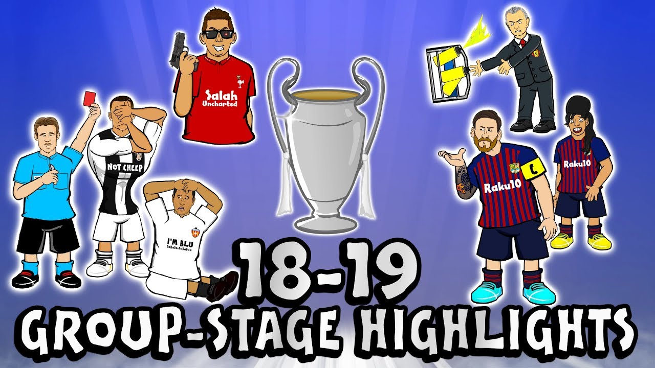 ?UCL GROUP STAGE HIGHLIGHTS? 2018/2019 UEFA Champions League Best Games and Top Goals