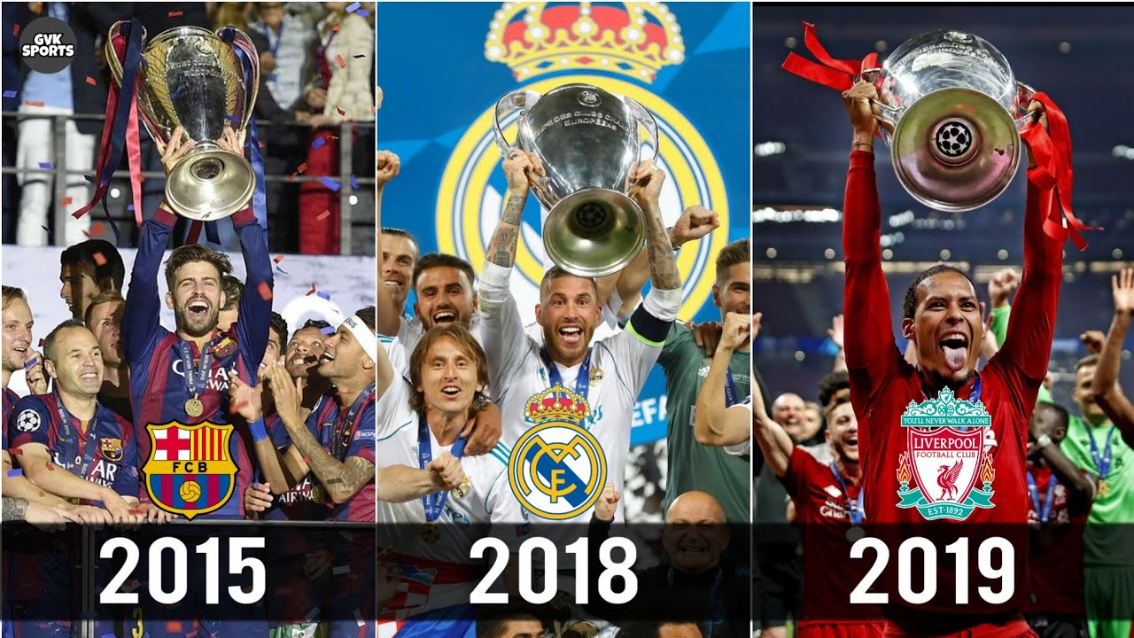 UEFA Champions League Winners List from 1956 to 2019 !