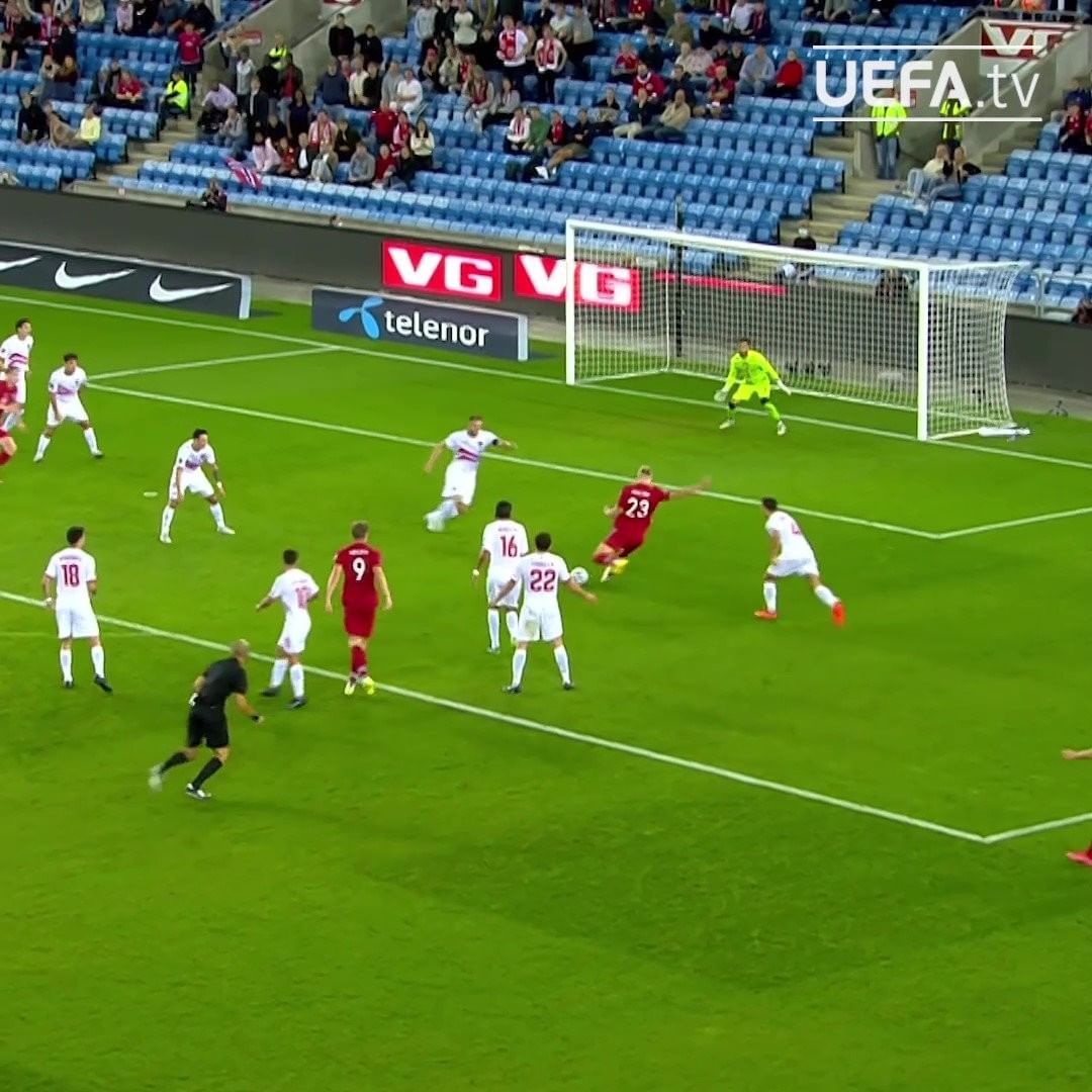 How good is Erling Haaland  Second hat-trick for Norway   ...