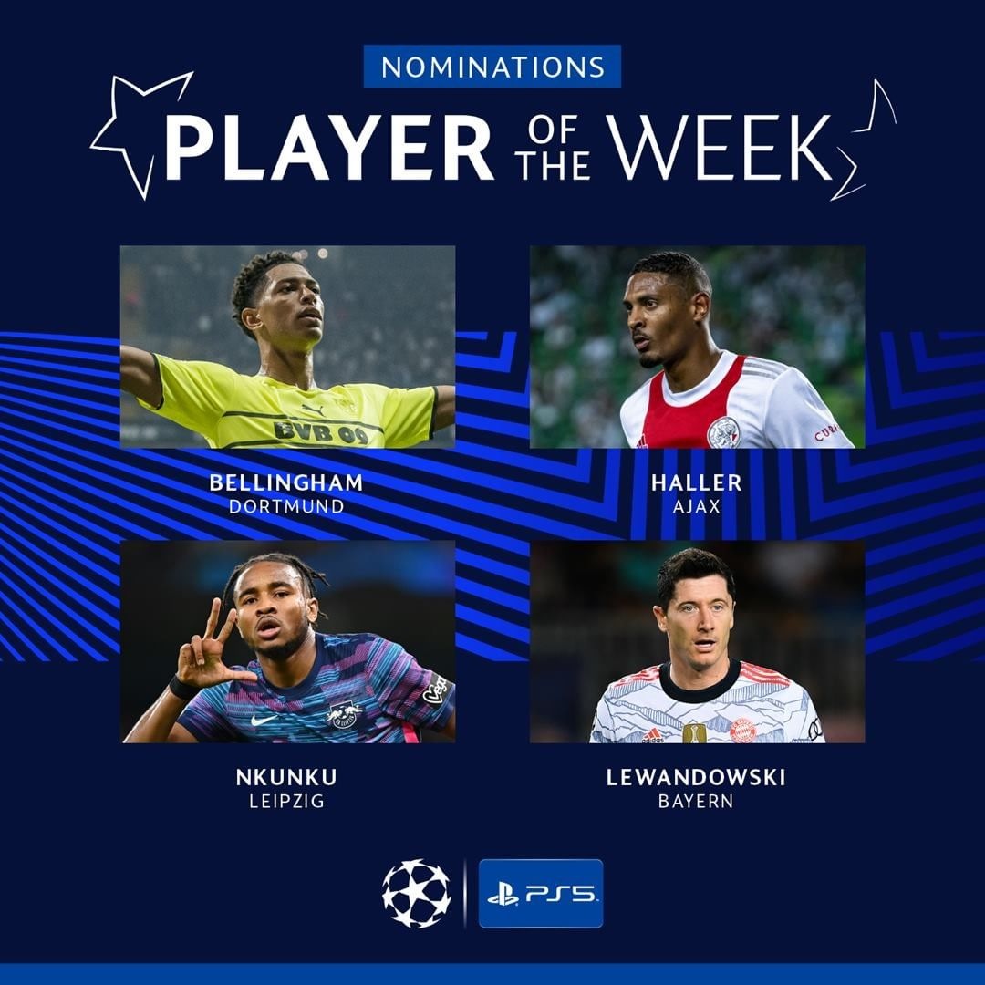 Who's your  Player of the Week?    | ...