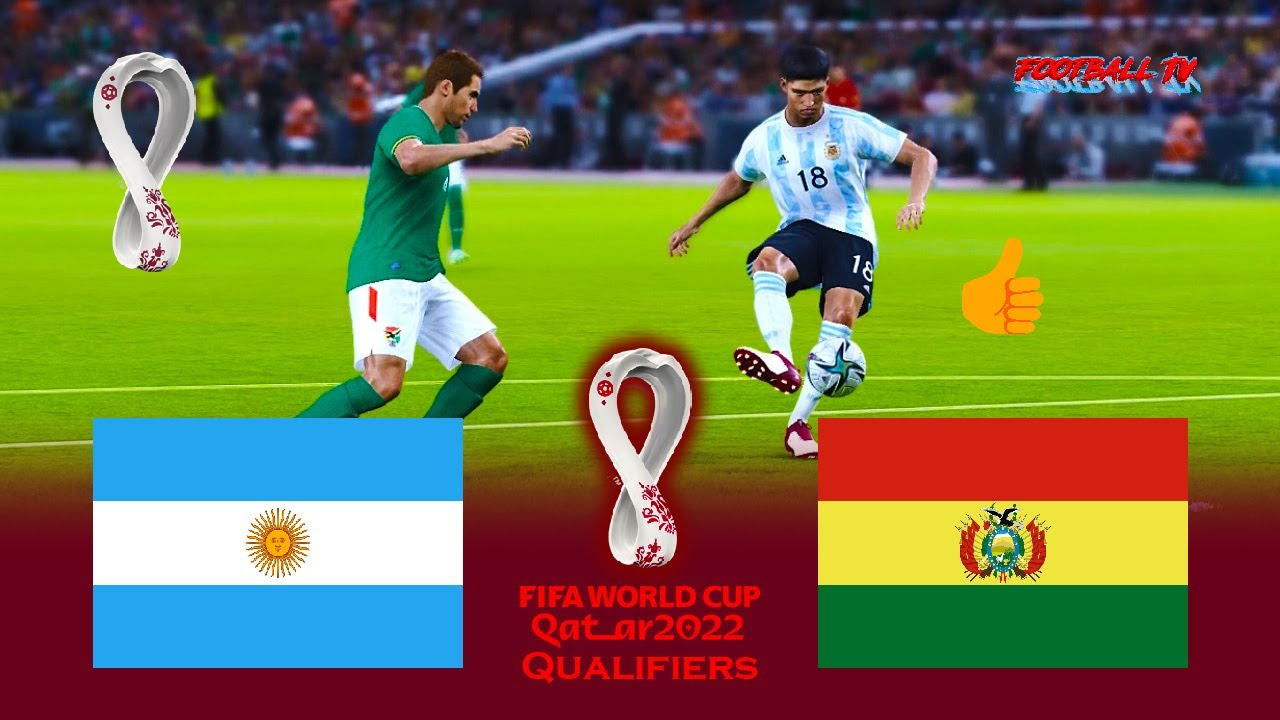ARGENTINA vs BOLIVIA - FIFA WORLD CUP 2022 QUALIFIERS - Match eFootball PES 2021