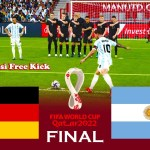 GERMANY vs ARGENTINA - Final FIFA World Cup 2022 - Match PES 2021 eFootball