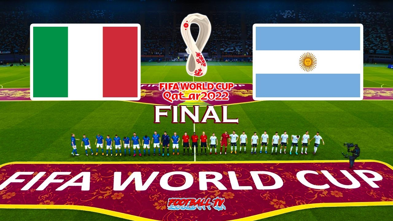 Italy vs Argentina   FIFA World Cup 2022 Final   Match eFootball PES 2021