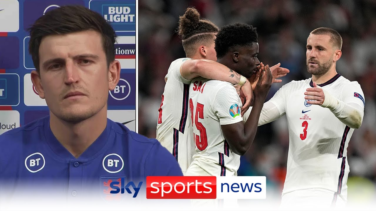 """""""We use it as more motivation"""" - Harry Maguire on bouncing back from Euro 2020 final defeat."""