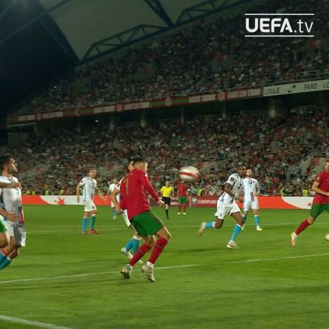 3&  Ronaldo's 10th international hat-trick.  How would you describe him to someo...